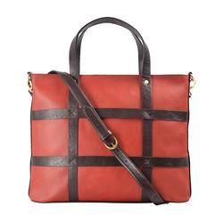 Freedom 01 Women's Shoulder Bag, Waxed Split Regular,  rust
