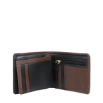 372-L107 RF MENS WALLET MELBOURNE RANCH,  black