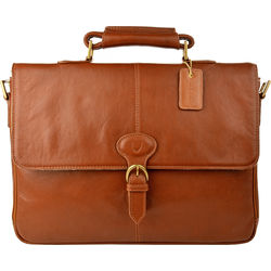 Parker 01 Briefcase, regular,  tan