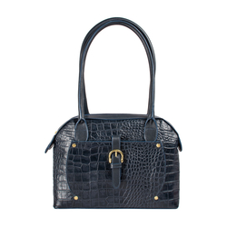 Mercury 01 Sb Women's Handbag Croco,  midnight blue