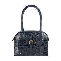 Mercury 01 Sb Women's Handbag Croco,  midnight blue