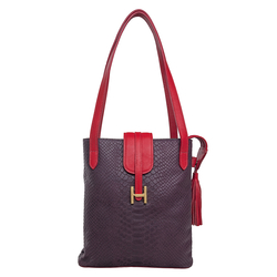Sb Silvia 01 Women's Handbag, Snake Ranchero,  purple