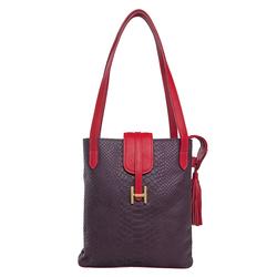 Sb Silvia 01 Women's Handbag Snake,  aubergine