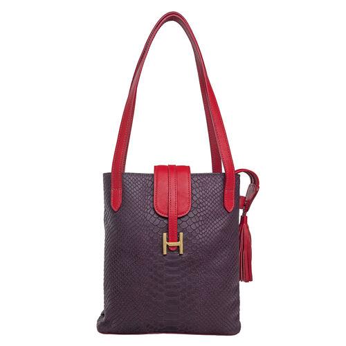 Sb Silvia 01 Women s Handbag, Snake Ranchero,  purple