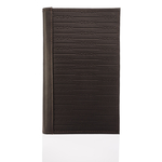 263-031F Passport holder,  brown, ranch
