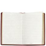 Little Red Book Notebook, maori,  fuschia
