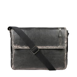 GRUNGE 04 BRIEFCASE AFGHAN,  black