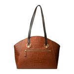 Bonnie 01 Women s Handbag, Croco Melbourne Ranch,  tan