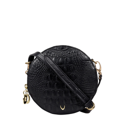 Hidesign X Kalki Infinite 03 Women's Handbag Baby Croco,  black
