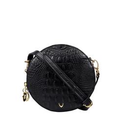 Hidesign X Kalki Infinite 03 Women's Handbag Baby Croco,  black