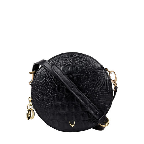 Hidesign X Kalki Infinite 03 Women s Handbag Baby Croco,  black