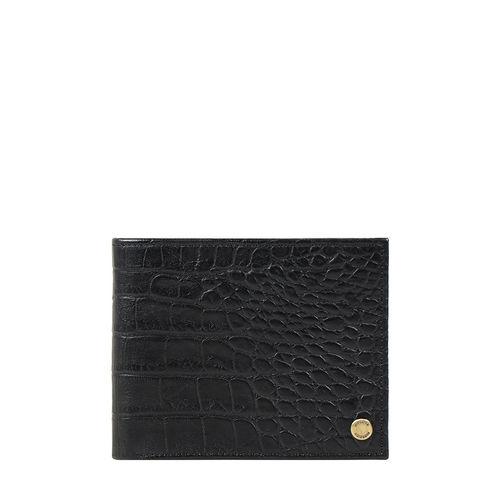 Sirius W1 Sb (Rfid) Men s Wallet Croco,  black