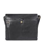 Ee Adam 01 Messenger Bag, Melbourne Ranch,  black