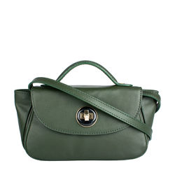 Vitello 03 Women's Handbag, Ranch Mel Ranch,  emerald