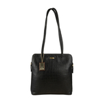 Kirsty Women s Handbag, Croco,  black
