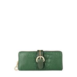 Harajuku W2(Rfid) Women's Wallet, Baby Croco,  green