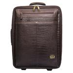 Abbey Road 04 Wheelie bag, croco,  brown