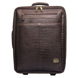Abbey Road 04 Wheelie bag,  brown, croco