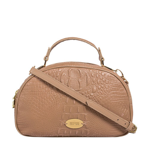 Hidesign X Kalki Infinite 01 Women s Handbag Baby Croco,  nude