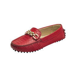 Hepburn Women's Shoes, Snake, 40,  red