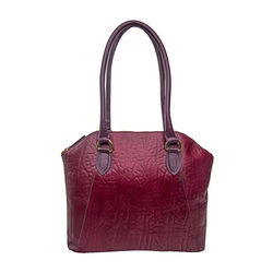 Aphradite 01 Women's Handbag, Elephant Ranch,  aubergine