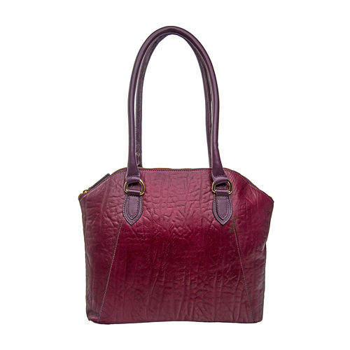 Aphradite 01 Women s Handbag, Elephant Ranch,  aubergine