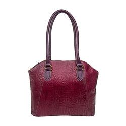 Aphradite 01 Handbag, elephant,  aubergine