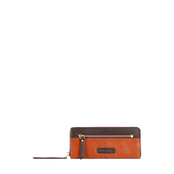 HIDESIGN X KALKI EDGE W2(RFID) WOMEN'S WALLET SOHO,  tan