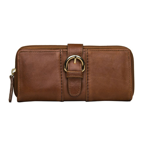 Aura W1 Women s Wallet, ranchero,  tan