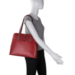 Hong Kong 02 Sb Women s Handbag, Lizard Melbourne Ranch,  marsala