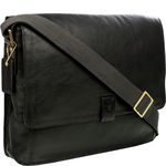 Aiden 01 Messenger bag, Ranchero,  black