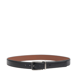 VINCENT MENS BELT RANCHERO,  black, 34-36