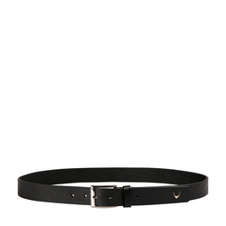Ee Lewis Men's Belt Glazed Plain,  black, 34