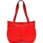 Nakasu 02 Women s Handbag, Melbourne Croco,  red