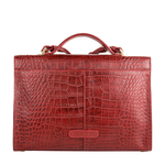 Stampa 01 Women s Handbag, Croco Melbourne Ranch,  red