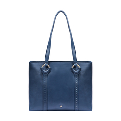 GATSBY 01 WOMEN'S HANDBAG SADDLE,  midnight blue