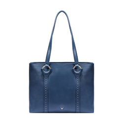 GATSBY 01 WOMEN'S HANDBAG SADDLE,  midnight blue