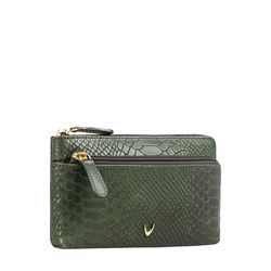 Paola W1 Women's Wallet Snake,  emerald green
