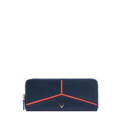 HIDESIGN X KALKI STAR W1(RFID) WOMEN'S WALLETS DENVER,  midnight blue