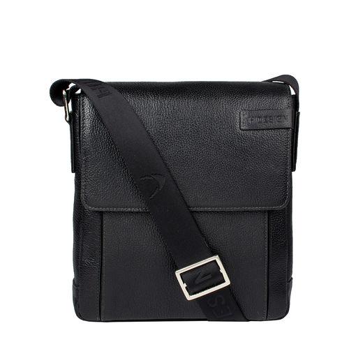 Travolta 03 Messenger bag, siberia,  black