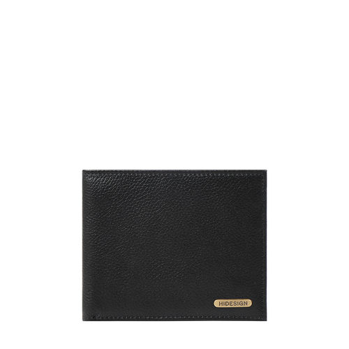 017SC (RFID) MEN S WALLET PRINTED REGULAR,  black
