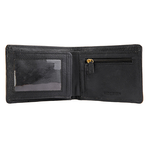 490 Men s wallet,  black, regular