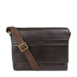 Ee Adam 01 Messenger Bag, Melbourne Ranch,  brown