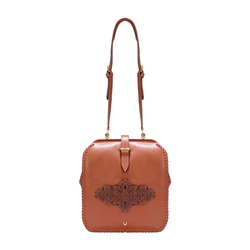 GELDA 02 WOMEN'S HANDBAG SADDLE,  tan