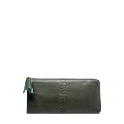 Sebbie W3 (Rfid) Women's Wallet, Regular,  emerald green