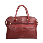 Lovato 01 Women s Handbag, Croco Melbourne Ranch,  red