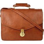 GI First Briefcase, ranchero,  brown