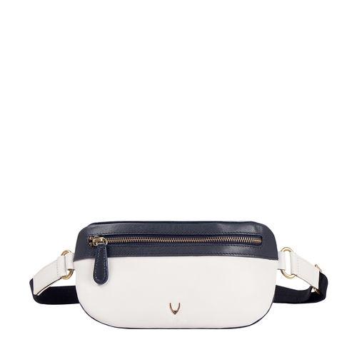 HIDESIGN X KALKI GYPSY 01 BELT BAG RANCH,  white