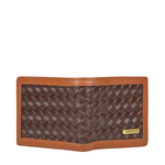 343 2020 RF SB MENS WALLET WOVEN MELBOURNE RANCH,  brown