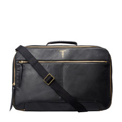 Valise Souple Briefcase, Milano,  black